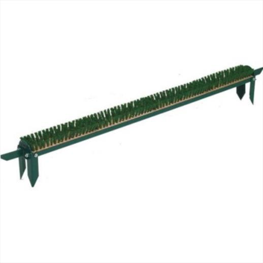 BMS Single Row Bootwiper Station 4 ft (c/w spiked feet)