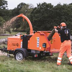 Timberwolf TW 280PHB Chipper