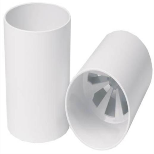 BMS 'ABS' Plastic Bright White Golf Hole Cup UK