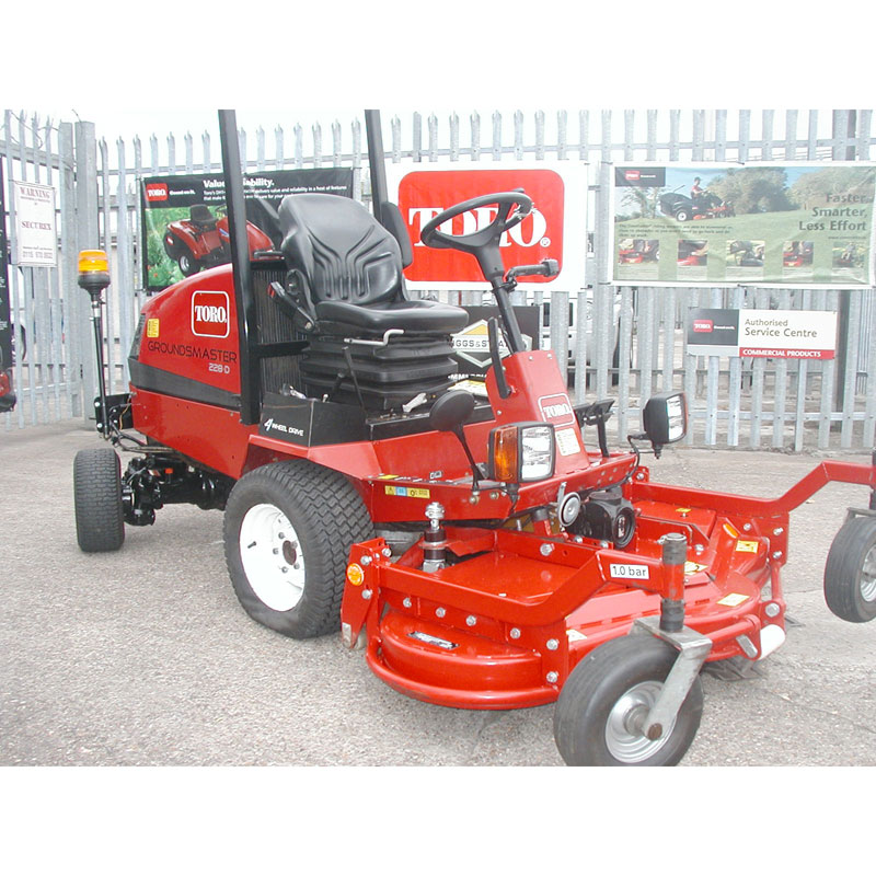 Ride On Rotary Mowers