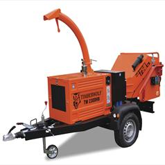 Towable Hydrualic Chippers