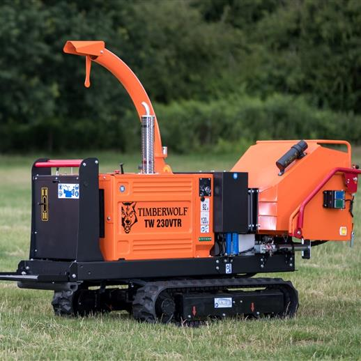 Timberwolf TW 230VTR Chipper