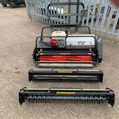 ALLETT C34 MOWER WITH 3 ATTACHMENTS